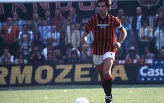 ©Ravezzani/LaPresse Archivio storico Sportcalcio Anni 90 Franco Baresi Nella foto: il giocatore del Milan Franco Baresi