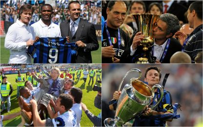 Inter, 10 anni fa lo storico triplete: i momenti più belli. FOTO