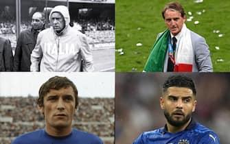 Confronto Italia euro 2021 - 1968