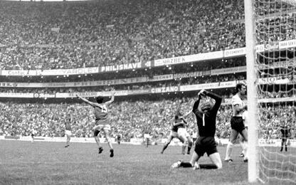 """Italia-Germania 4-3: la """"Partita del secolo"""" compie 50 anni. FOTO"""