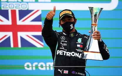 Tutti i record di Lewis Hamilton. FOTO