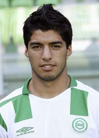 Luis Suarez during the team presentation of FC Groningen at July 30, 2006 at Groningen, Neteherlands. (Photo by VI Images via Getty Images)