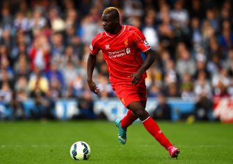 LONDON, ENGLAND - OCTOBER 19:  Mario Balotelli of Liverpool in action during the Barclays Premier League match between Queens Park Rangers and Liverpool at Loftus Road on October 19, 2014 in London, England.  (Photo by Paul Gilham/Getty Images)