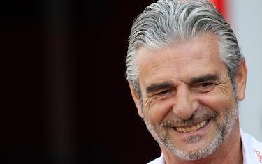 © Photo4 / LaPresse02/09/2016 Monza, ItalySport Grand Prix Formula One Italia 2016In the pic: Maurizio Arrivabene (ITA) Ferrari Team Principal