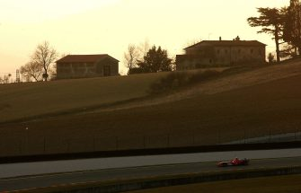 during the launch of the new Ferrari F1 car for the Season 2006 on January 24, 2006 in Mugello near Florence, Italy.
