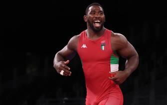 Abraham Conyedo, medaglia di bronzo nella lotta 97 kg a Tokyo 2020