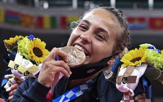 Bronzo al Judo per Odette Giuffrida 25  luglio 2021 ANSA / CIRO FUSCO