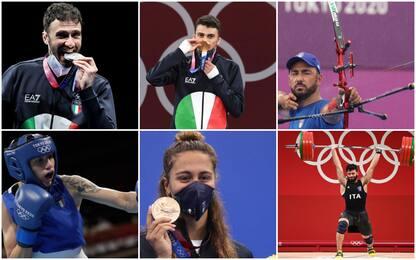 Da Samele a Pizzolato, le medaglie azzurre a Tokyo