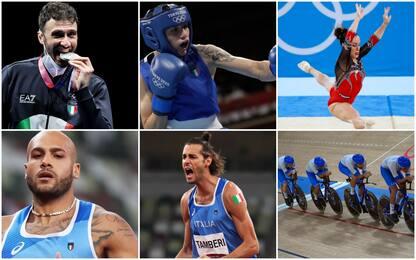 Da Samele al quartetto del ciclismo, le medaglie azzurre a Tokyo