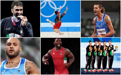 Da Samele alle farfalle azzurre, le medaglie dell'Italia a Tokyo