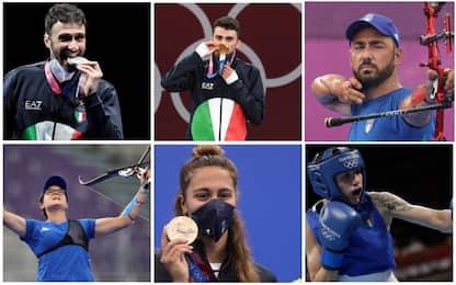 Da Samele a Testa, le medaglie azzurre a Tokyo