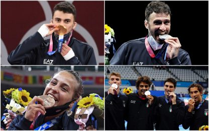 Da Samele a Zanni, tutte le medaglie azzurre a Tokyo