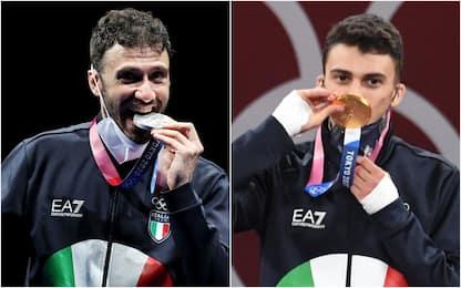 Luigi Samele e Vito Dell'Aquila: le prime medaglie azzurre a Tokyo