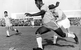 ©LAPRESSE/DPA08-05-1960 SPORT CALCIONAZIONALE BRASILENELLA FOTO:PELE'