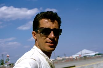 Mario Andretti, 12 Hours of Sebring, Sebring, 26 March 1966. (Photo by Bernard Cahier/Getty Images)