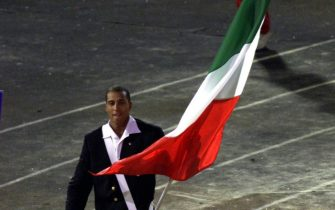Il cestista italiano Carlton Myers