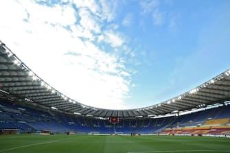 Stadio Olimpico di Roma, veduta interna