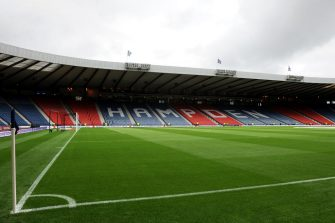 General view of the interior of Hampden Park, Glasgow   (Photo by Andrew Matthews - PA Images via Getty Images)