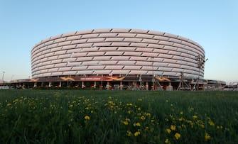 Olympic Stadium di Baku dall'esterno