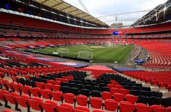 Veduta interna del Wembley Stadium