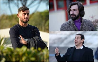 Gli ex campioni diventati allenatori delle giovanili o vice in Serie A