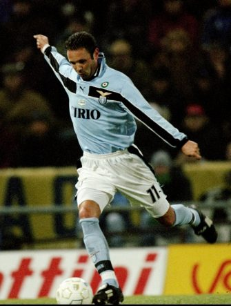 17 Jan 1999:  Sinsia Mihajlovic of Lazio in action during the Italian Serie A match against Parma in Parma, Italy. Lazio won the game 3-1. \ Picture:  Claudio Villa. \ Mandatory Credit: Allsport UK /Allsport