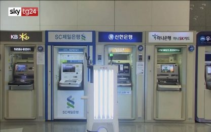 Coronavirus, in Corea del Sud un robot aiuta ad affrontare la pandemia