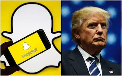 """Snapchat: """"Stop ai messaggi di Trump, incitano alla violenza razziale"""""""