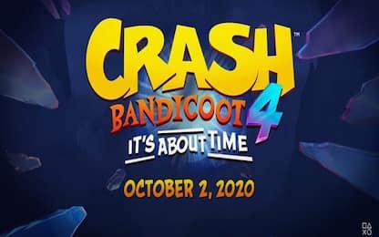 Crash Bandicoot 4 presentato ufficialmente. Uscirà il 2 ottobre