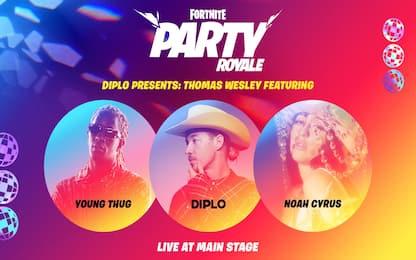 Fortnite, rivelati data e orario del nuovo concerto di Diplo