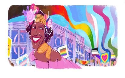 Chi è Marsha P. Johnson, l'attivista LGBTQ+ nel doodle di Google
