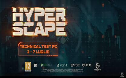 PS4, Ubisoft annuncia il nuovo battle royale Hyper Scape