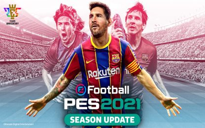 Pes 2021, la versione Lite è disponibile per il download gratuito