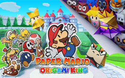 Paper Mario: The Origami King, disponibile su Nintendo Switch