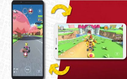 Mario Kart Tour si aggiorna: arriva la modalità orizzontale