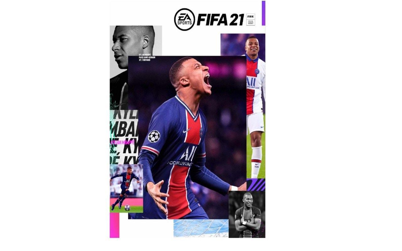 La copertina di Fifa 21