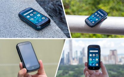 Jelly 2 è lo smartphone Android 10 4G più piccolo al mondo