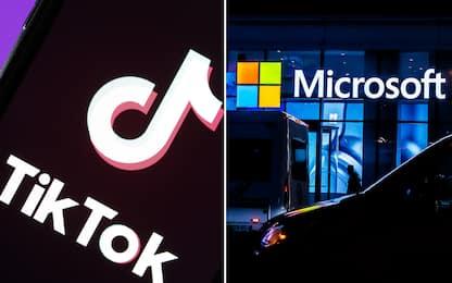TikTok, Microsoft in trattative per acquistare l'app