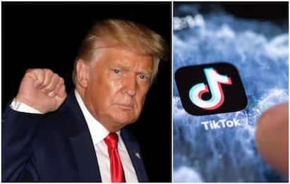 Trump annuncia decreto per vietare TikTok negli Usa