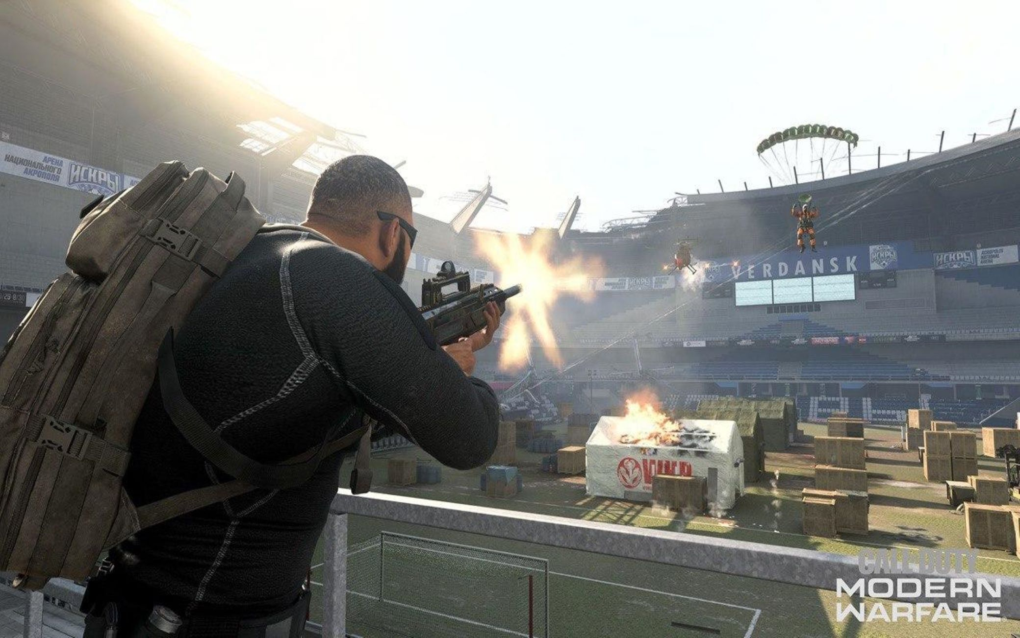 Un frame di Call of Duty