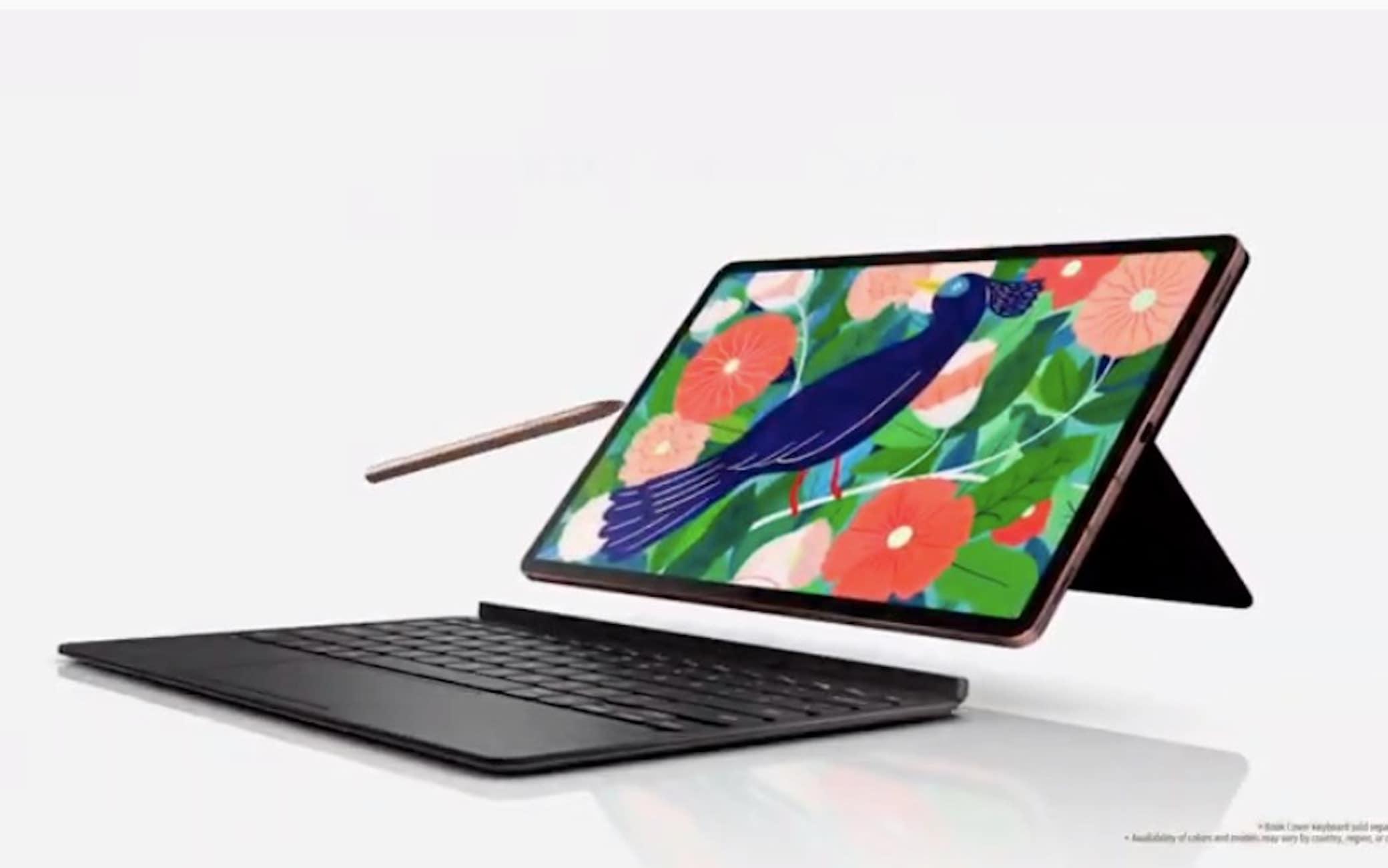 Il nuovo Galaxy Tab S7