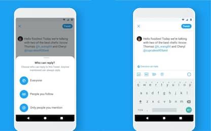 Twitter: adesso tutti possono scegliere chi può rispondere ai tweet