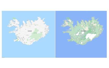 Natura protagonista su Google Maps: più dettagli e colori reali