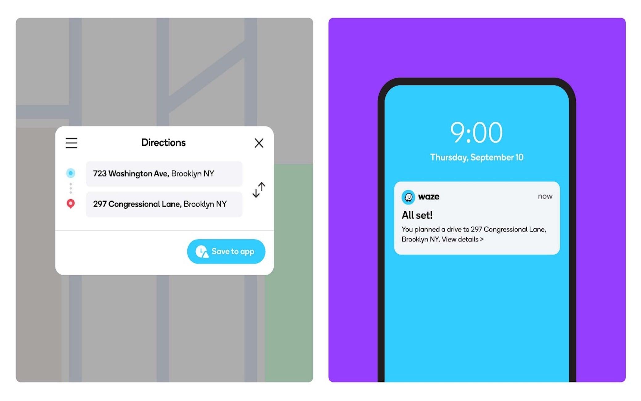 L'applicazione Waze