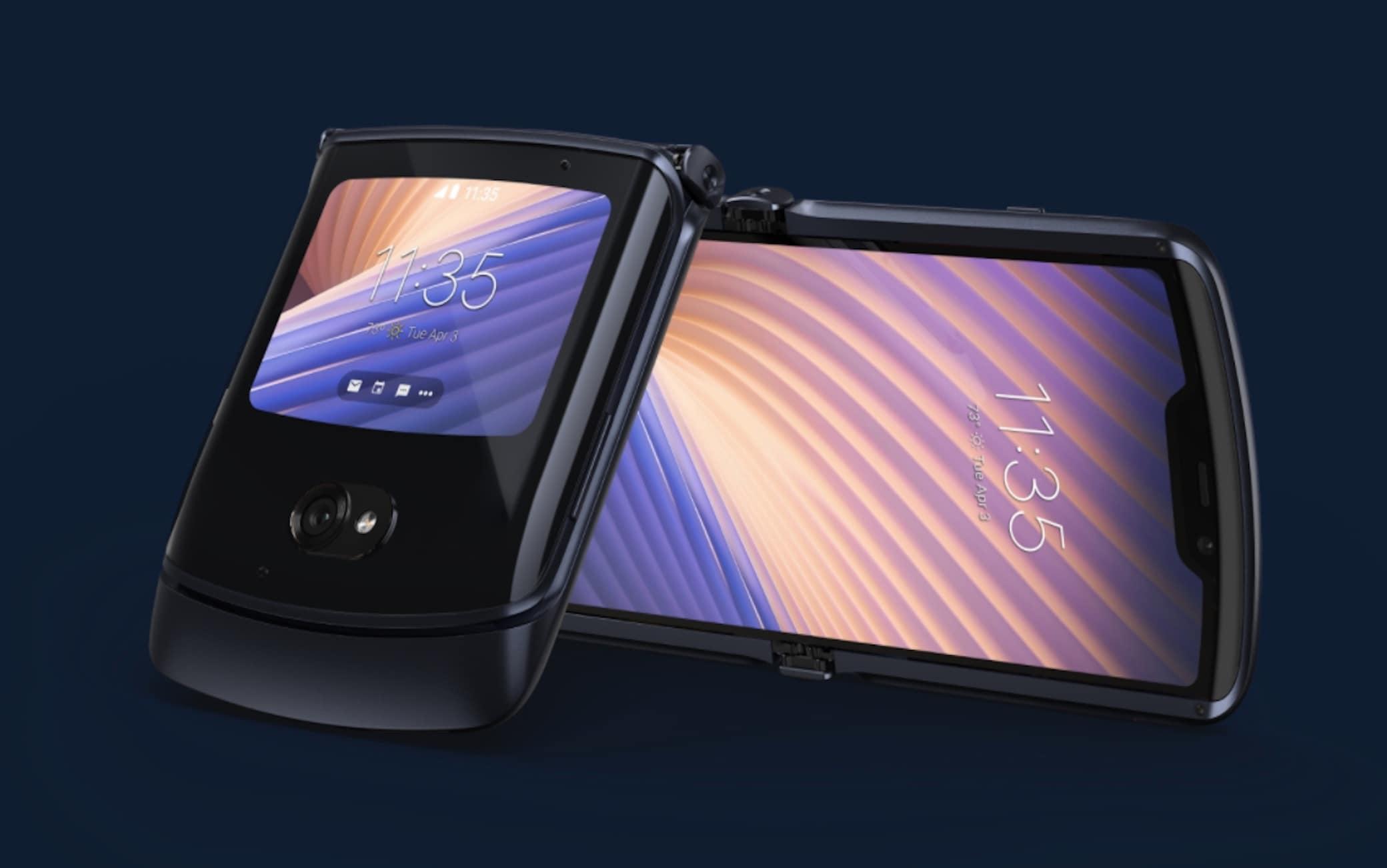 Motorola presenta lo smartphone a conchiglia Razr 5G