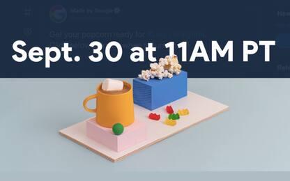 Google, il 30 settembre saranno svelati il Pixel 5 e altri dispositivi