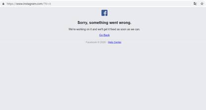 Instagram down, malfunzionamenti per gli utenti di tutto il mondo