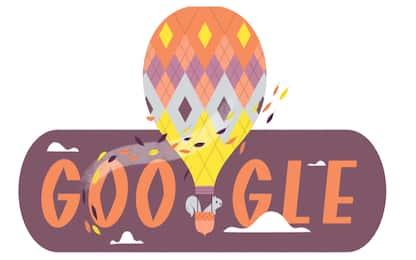 Google, il doodle di oggi celebra l'arrivo dell'autunno