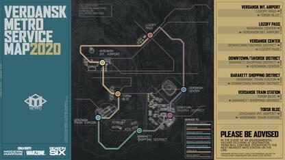 Call of Duty: Warzone, metropolitana in arrivo con la stagione 6