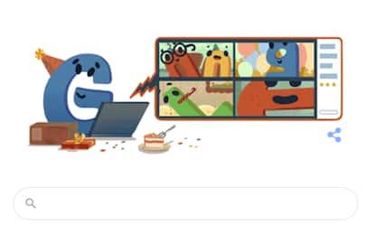 Google festeggia i suoi 22 anni con un doodle